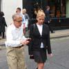 Woody Allen and Scarlett Johansson