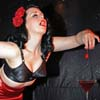 Burlesque Performer, Earls Court Festival