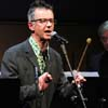John Hegley, poet, King's Place London