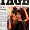 Stage Magazine front cover