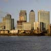 Canary Wharf from North Greenwich