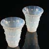Lalique Bellis Vases, property from a Royal Collection