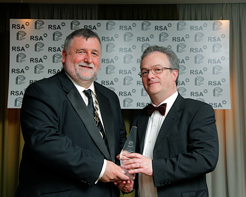Receiving Best Commercial Image Award in 2010 RSA IPPA national Finals