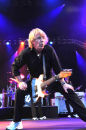 Rick Parfitt close up and having fun