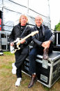 Backstage with Status Quo