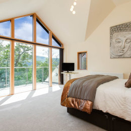 Master Bedroom with a Fantastic view