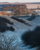 Frosty Sunrise in Bailey Dale