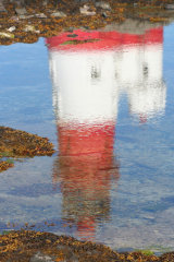 Lighthouse in Northumbria