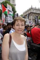 Caroline Lucas leader of the Green Party