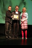 Jeremy Hardy, Chris Shephered & Maria Manton / British Animation Awards 2004