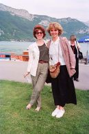 Hilary Audus & Joanne Harrison at Annecy