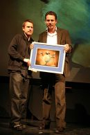 Jeremy Hardy & Andrew Ruhemin / British Animation Awards 2004