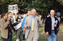 Ken Livingstone joins the biggest anti-war demonstration ever held in Britain