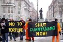 """No To Torture""  ""Shut Guantánamo Now"""