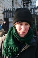 Maria Gallastegui on hunger strike for Gaza