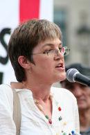 TUC President Alison Shepherd