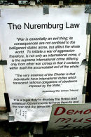 Nuremburg War Crimes Tribunal; the long arm of the law