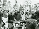 Rev Jesse Jackson marches for peace