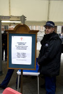 Blairs security checks at Westminster Cathedral surprises parishioners 