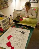 Linda Ingham - fabric artist