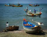 Vietnamese fishers