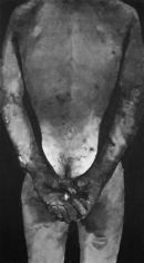 body 3 charcoal on paper 32x60inches