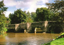 THE OLD PACKHORSE BRIDGE AT CLUN
