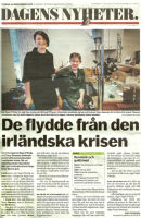 Dagens Nyheter Article-Sweden Nov 2010
