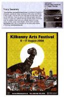 Kilkenny Arts Festival Catalogue, Ireland 2008